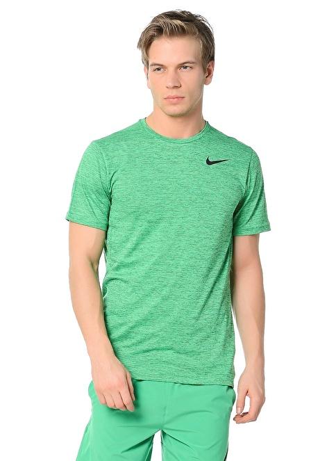 Nike Bisiklet Yaka Tişört Yeşil
